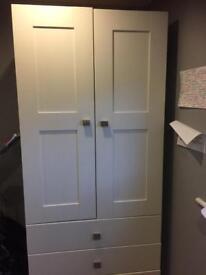 White double wardrobe