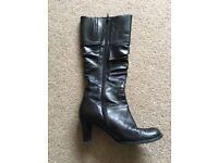 Gabor ladies boots black size 5
