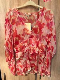 Laura Ashley Beach Cover Up to Blouse Size 14 new wth Tags summer , collect Bournemouth or poole