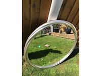 Large round Laura Ashley mirror