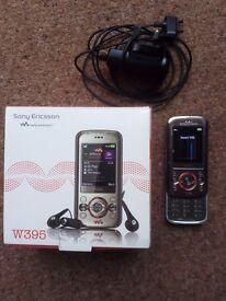 Sony Ericsson W395 'slider' mobile phone