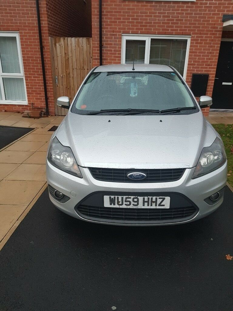 Ford Focus In Silver 1 6 Petrol With One Year Mot