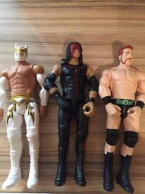 "12"" WWE wrestling figures"