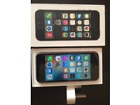 iPhone 5s 16 gb unlooked to any network come with orginal box and charger