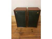 Pair of Vintage Wharfdale Super Linton W30D speakers - early 1970's