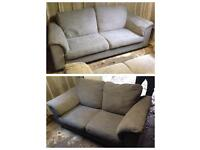 3 seater and 2 seater sofa - good condition