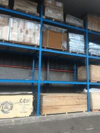 Ohra Heavy Duty Pallet Racking With Decking Boards