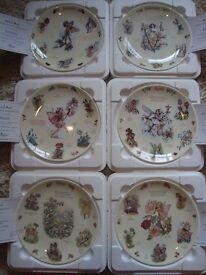 Coal Port Calendar of Fairies full set of Plates designs