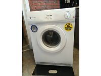 White knight 6kg tumble dryer with stickers and pipe can deliver for a small charge