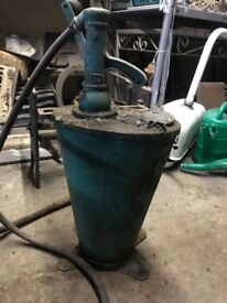 Vintage oil grease pump