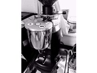 Mazzer Kony E Black Chrome 63mm conical grinder 1 year old