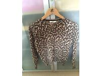 New size 10 M&S wool mix cardigan FREE POSTAGE