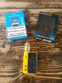 Asmodus minikin boost galaxy edition and kylin gold rta
