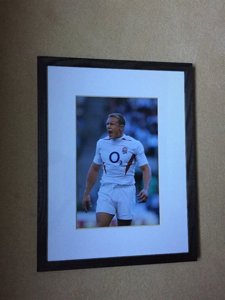 Johnny Wikinson framed picture, as newin Newbury, BerkshireGumtree - Lovely framed picture in perfect condition. Bought from John Lewis. 53cm x 41cm Glass frame with ebony colour surround