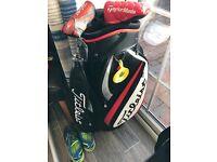 Cobra Irons Scotty Cameron Putter & Titleist Cart Bag