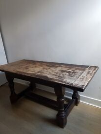 Vintage Solid Wooden Table