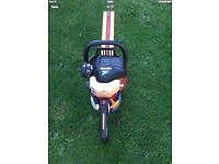 Homelite Mighty Lite Petrol Hedge Cutter works great can be seen working cb5 £55