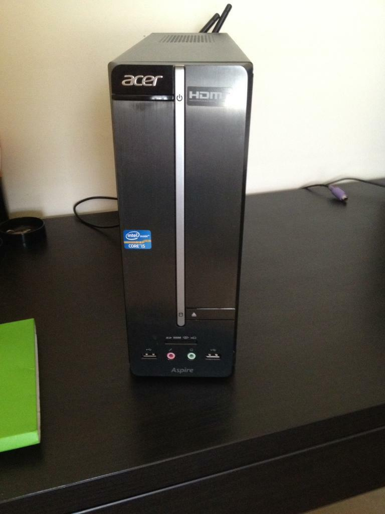 Acer Aspire XC 600in Newtownabbey, County AntrimGumtree - Acer Aspire XC 600 I5 500 GB gaming Pc/Pc. Windows 8. Acer keyboard & mouse. All original documents. Like new, has been rarely used. Not a scratch