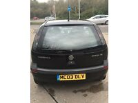 Vauxhall Corsa SXI 2003 1 YEAR MOT+BRAND NEW TYRES