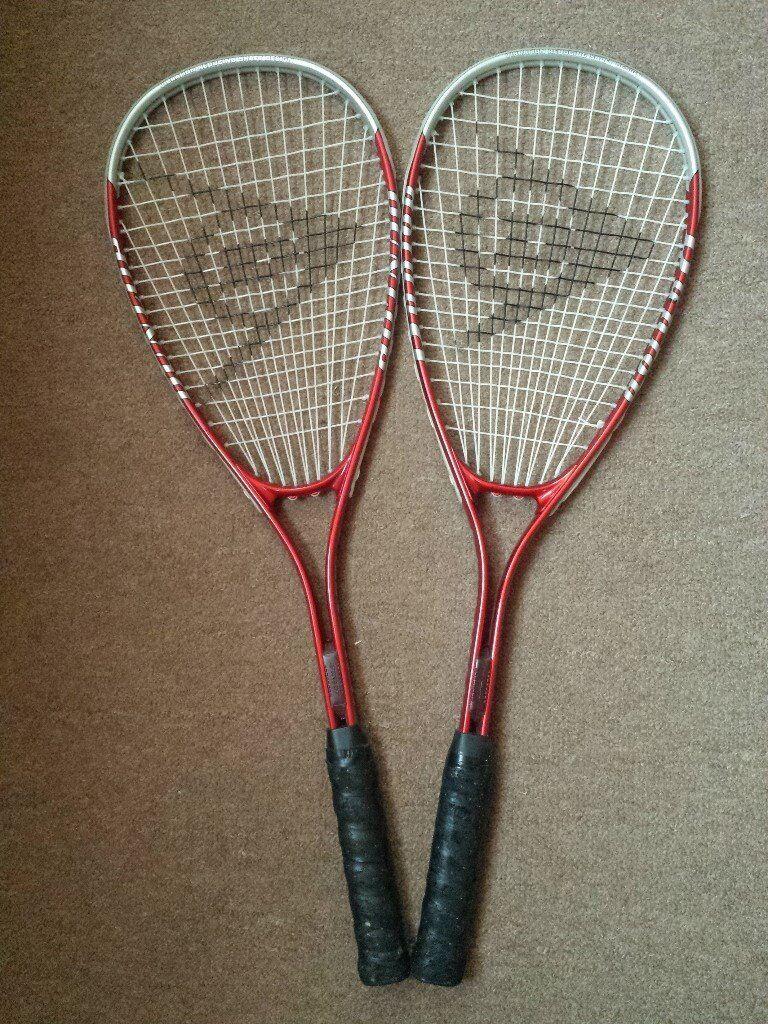 2 x Dunlop Squash Rackets