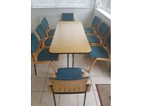 Table with chairs 8
