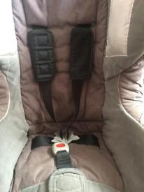 First class Britax car seat