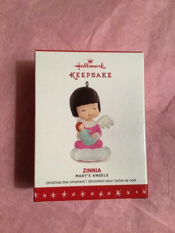 Hallmark Keepsake Ornament Mary's Angels 2016 Zinnia 29th twenty nineth New