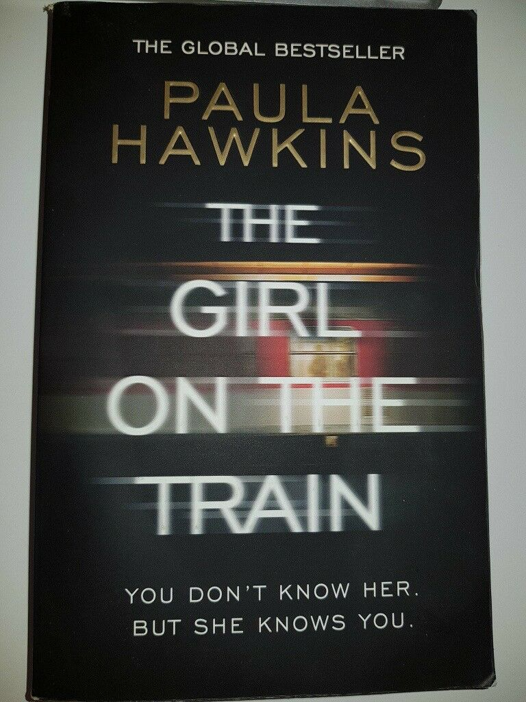 The Girl on the Train - IMMACULATE CONDITION - FANTASTIC BOOK. Goodreads rating 3.9/5