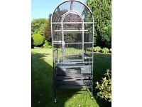 Bird cage, for small birds - 1cm Bar Spacing. Parakeets, Kakariki, Cockatiels, Conures,small parrots