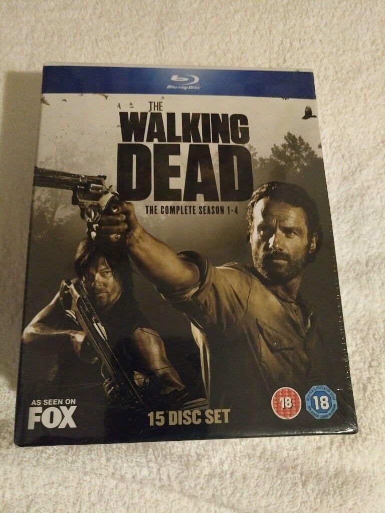 The Walking Dead Seasons 1-4 [Blu Ray] - £20