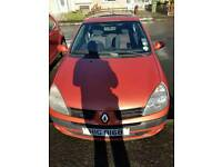 Renault clio 1.5 dci. MOT and cheap £30 tax per year