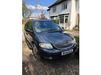 2.5 LIMITED GRAND VOYAGER MANUAL WITH LOTS OF SERVICE HISTORY