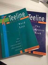 Shorthand Teeline Course book and word list