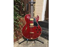 2001 Gibson Memphis ES-135 - PAFs - Cherry - With OHSC