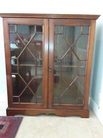 Antique Mahogany China Cabinet/Bookcase