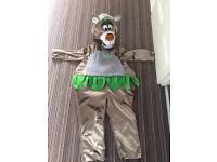 Jungle book Balloo costume 3-4 years