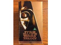 Star Wars Trilogy Gold Special Edition VHS Box Set