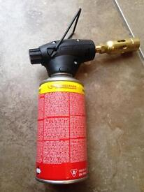 Rothenberger blow torch & gas brand new.