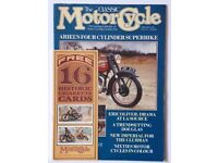 17 issues of The Classic Motorcycle, The Classic Bike and more from 1989 to 2012