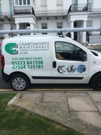 Hi we are domestic and commercial cleaning contractors we cover east and west Sussex
