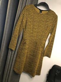 Brand New H&M Mustard Dress.