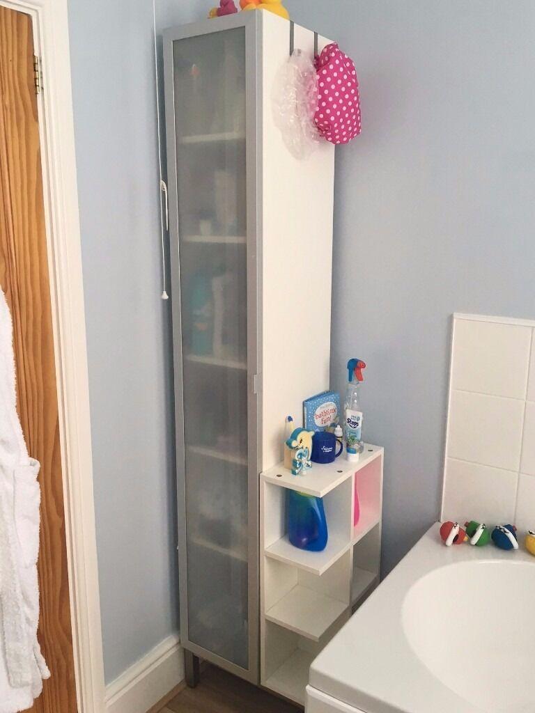 Bathroom High Cabinet Ikea Lillangen High Cabinet For Bathroom With Detachable End