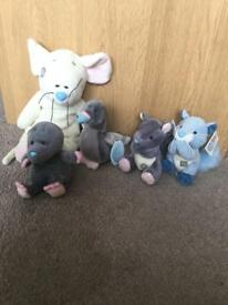 Tatty Teddy Blue Nose Animals