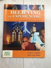 WJEC CBAC – Believing and Experiencing – Gavin Craigen and Joy White ISBN 0-340-85800-1