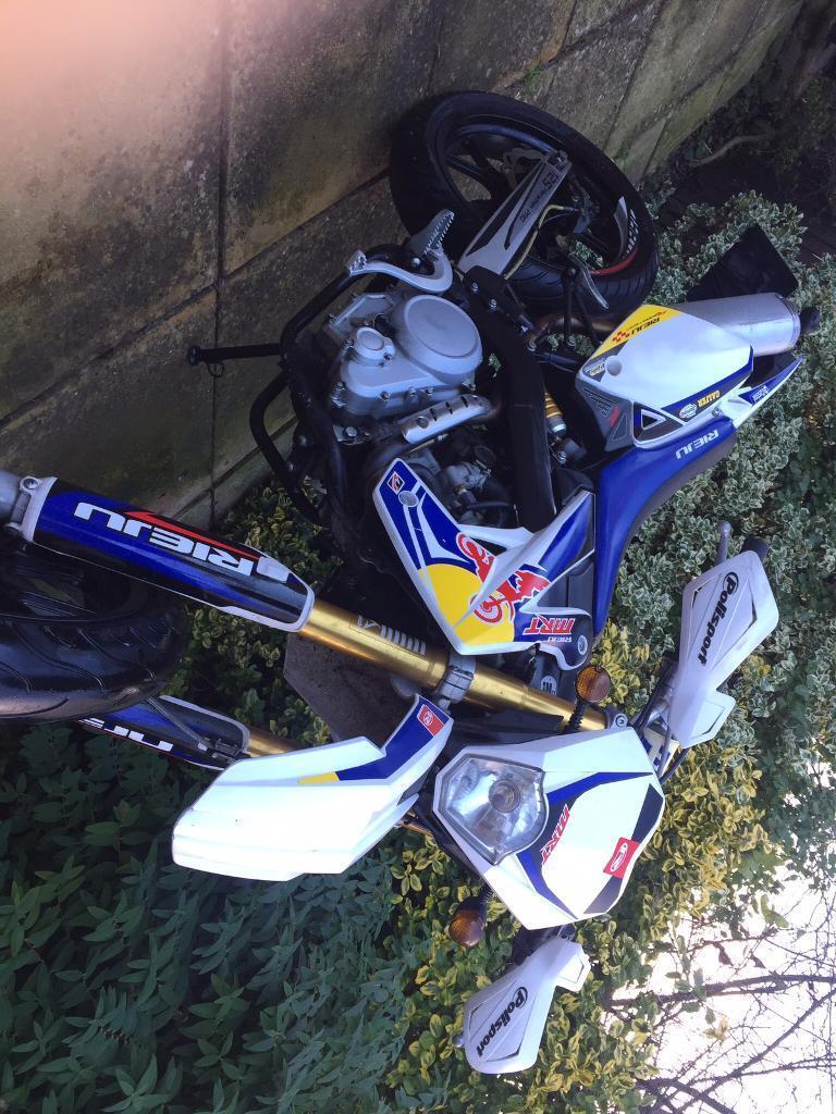 Rieju mrt pro 125, Yamaha engine ! MUST SEE