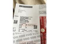 Taylor Swift Wembley Friday 22nd June