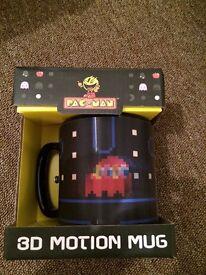 pac man 3D mug