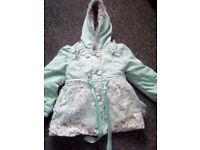 X3 coats Little girls jacket bundle age 2 years