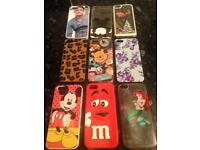 9 I phone 5s phone cases all in very good condition as seen in picture £2 each or all 9 for £15