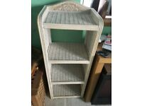 Attractive bathroom/bedroom unit - great for towels/other storage - perfect condition £20